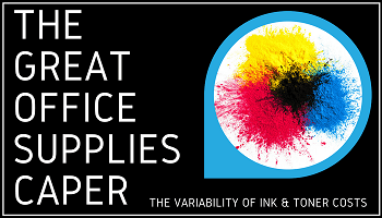 Explaining the cost of replacement ink and toner cartridges